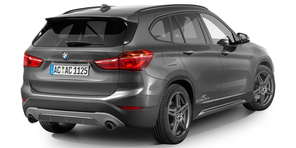 90mm Sport Black Ceramic Tailpipes Each For Bmw X1 F48